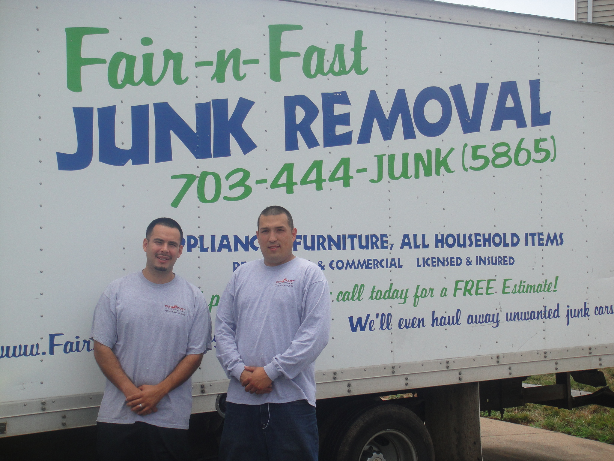Fair N Fast Junk Removal Services Offered Junk Removal